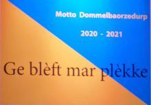Motto 2021 Ge blèft mar plèkke