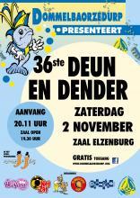 Poster Uitnodiging Deun en Dender 2 november 2019